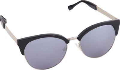 Elie Tahari Sunglasses Retro Sunglasses Black/Silver - Elie Tahari Sunglasses Sunglasses