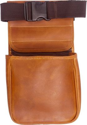 Canyon Outback Leather  Hills Leather Shell Bag Distressed Tan - Canyon Outback Other Sports Bags