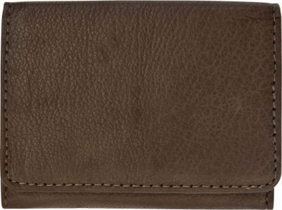 Canyon Outback Leather Bozeman Falls Leather Tri-Fold Wallet Brown - Canyon Outback Mens Wallets