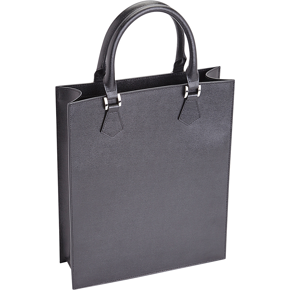 Royce Leather RFID Blocking Executive Womens Laptop Tote Briefcase Black - Royce Leather Womens Business Bags - Work Bags & Briefcases, Women's Business Bags
