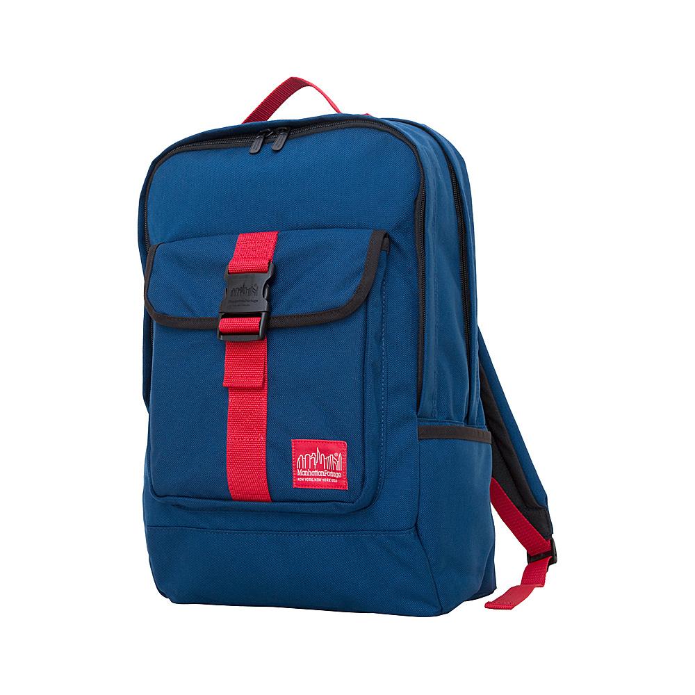 Manhattan Portage Stuyvesant Backpack Navy/Red - Manhattan Portage Everyday Backpacks - Backpacks, Everyday Backpacks
