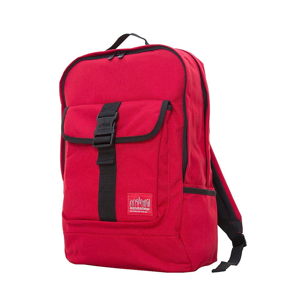 Manhattan Portage Stuyvesant Backpack Red/Black - Manhattan Portage Everyday Backpacks - Backpacks, Everyday Backpacks