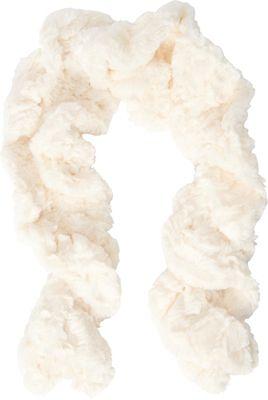 Jessica McClintock Scarves Faux Fur Neck Warmer Ivory - Jessica McClintock Scarves Hats/Gloves/Scarves