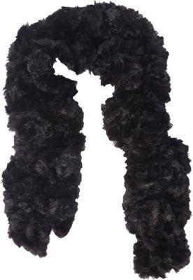 Jessica McClintock Scarves Faux Fur Neck Warmer Black - Jessica McClintock Scarves Hats/Gloves/Scarves