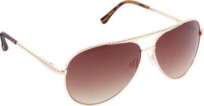 Circus by Sam Edelman Sunglasses Aviator Sunglasses Gold/Brown - Circus by Sam Edelman Sunglasses Sunglasses