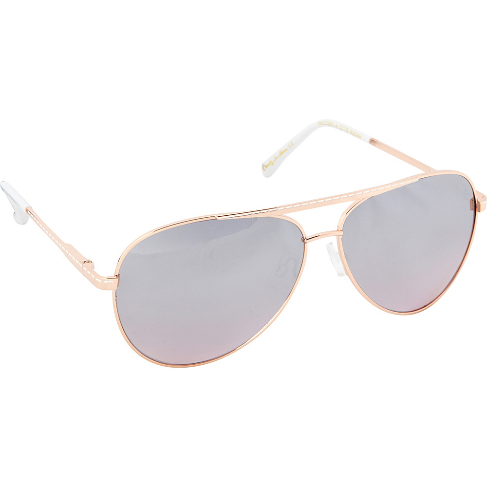 Circus by Sam Edelman Sunglasses Aviator Sunglasses Gold White Circus by Sam Edelman Sunglasses Sunglasses