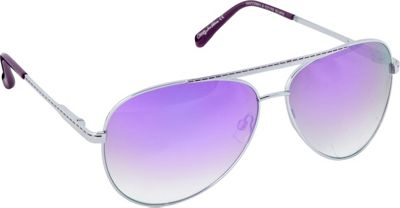 Circus by Sam Edelman Sunglasses Aviator Sunglasses Silver/Purple - Circus by Sam Edelman Sunglasses Sunglasses