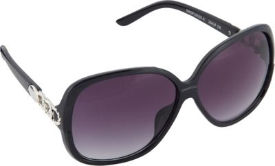 SouthPole Eyewear Oval Glam Sunglasses Black - SouthPole Eyewear Sunglasses