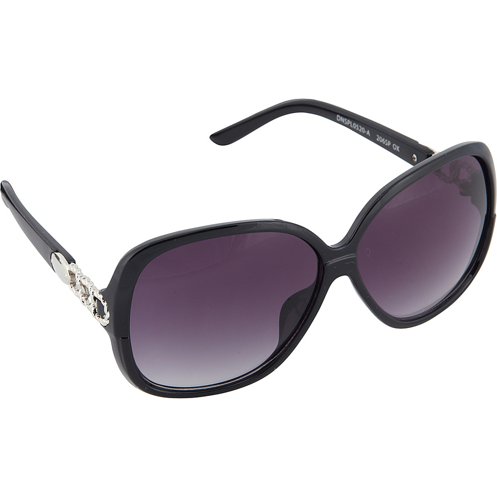 SouthPole Eyewear Oval Glam Sunglasses Black SouthPole Eyewear Sunglasses