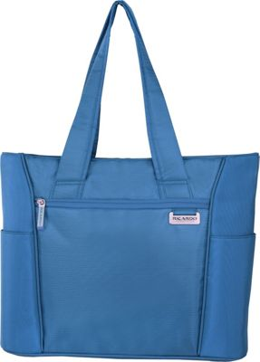Ricardo Beverly Hills Del Mar 16 inch Shopper Tote Sapphire - Ricardo Beverly Hills Luggage Totes and Satchels