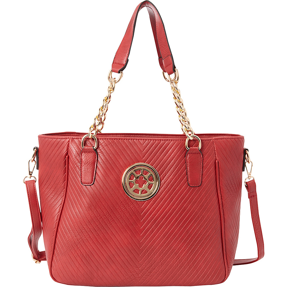 SW Global Candy Shoulder Bag Red - SW Global Manmade Handbags - Handbags, Manmade Handbags