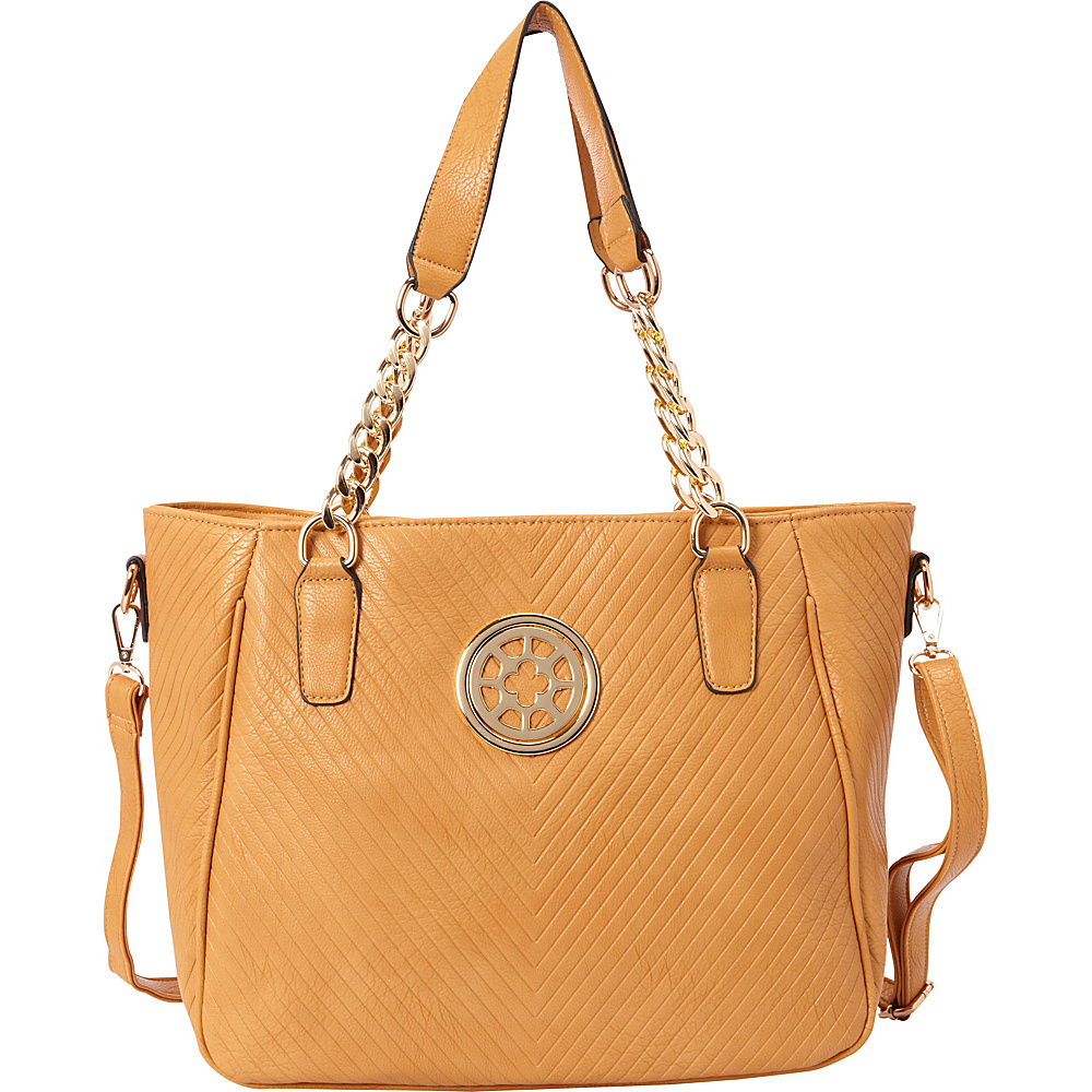 SW Global Candy Shoulder Bag Tan - SW Global Manmade Handbags - Handbags, Manmade Handbags
