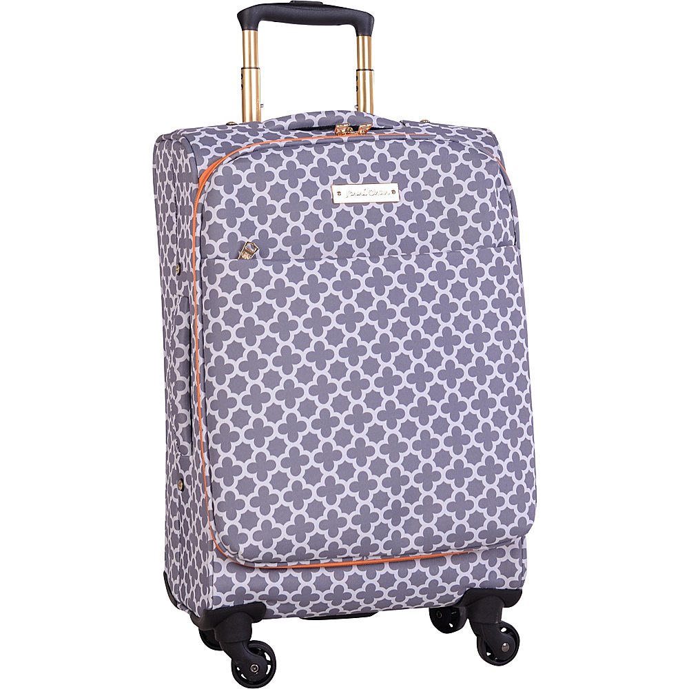 Jenni Chan Aria Broadway 20 Upright Spinner Grey Jenni Chan Softside Carry On