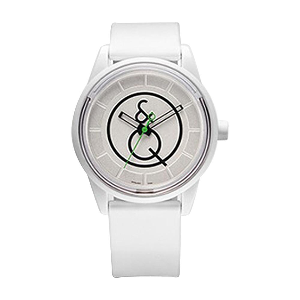 Q & Q Smile Solar Women's Sporty Watch White - Q & Q Smile Solar Watches