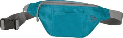 Travelon Top Zip Waistpack Aqua - Travelon Waist Packs