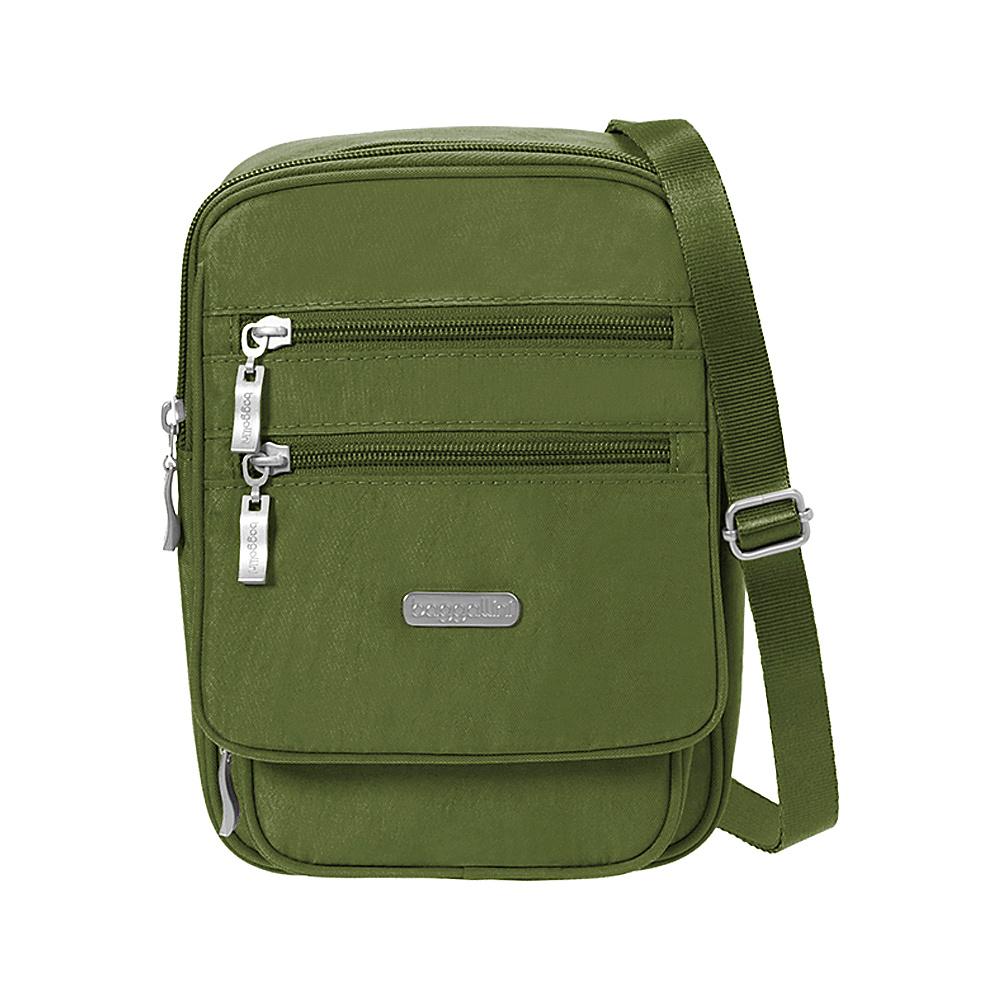 baggallini Journey Crossbody Moss - baggallini Fabric Handbags - Handbags, Fabric Handbags