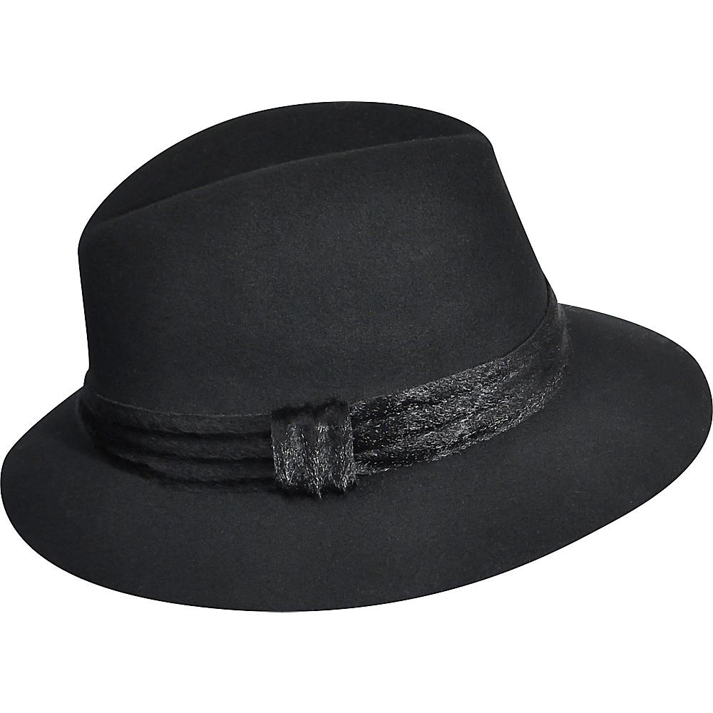 Karen Kane Hats Felt Fedora Black Small Medium Karen Kane Hats Hats Gloves Scarves