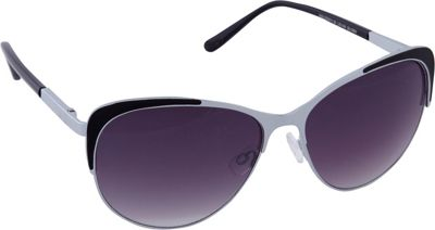 Laundry by Shelli Segal Sunglasses Laundry by Shelli Segal Sunglasses Combo Cat Eye Sunglasses Silver/Black - Laundry by Shelli Segal Sunglasses Sunglasses