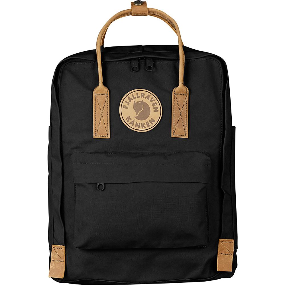 Fjallraven Kanken No.2 Backpack Black - Fjallraven Everyday Backpacks - Backpacks, Everyday Backpacks