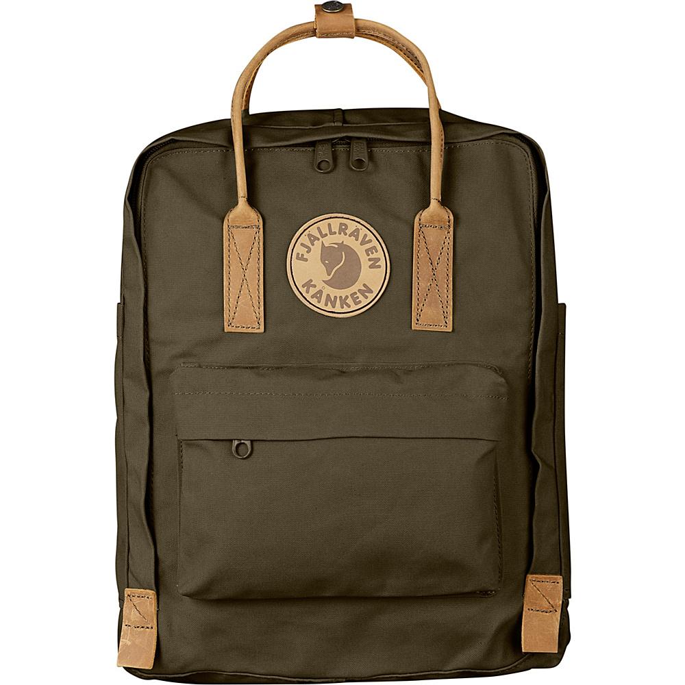Fjallraven Kanken No.2 Backpack Dark Olive - Fjallraven Everyday Backpacks - Backpacks, Everyday Backpacks