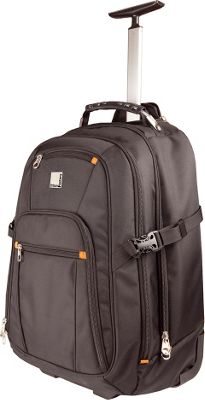 Urban Factory Union Trolley Backpack 15.6 inch V2 Black - Urban Factory Rolling Backpacks