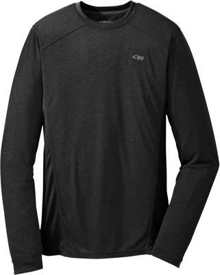 Outdoor Research Mens Sequence L/S Crew Black – Extra Large - Outdoor Research Men's Apparel