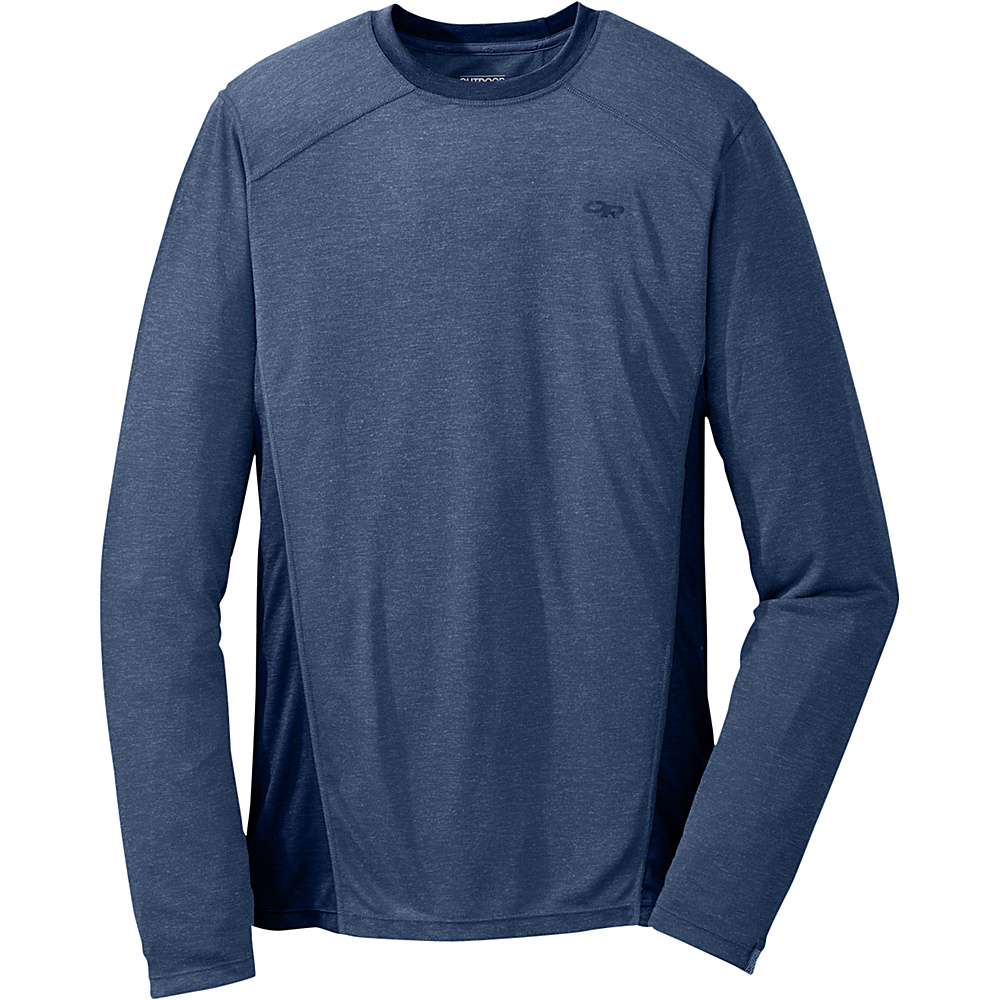 Outdoor Research Mens Sequence L/S Crew M - Dusk/Night - Outdoor Research Mens Apparel - Apparel & Footwear, Men's Apparel