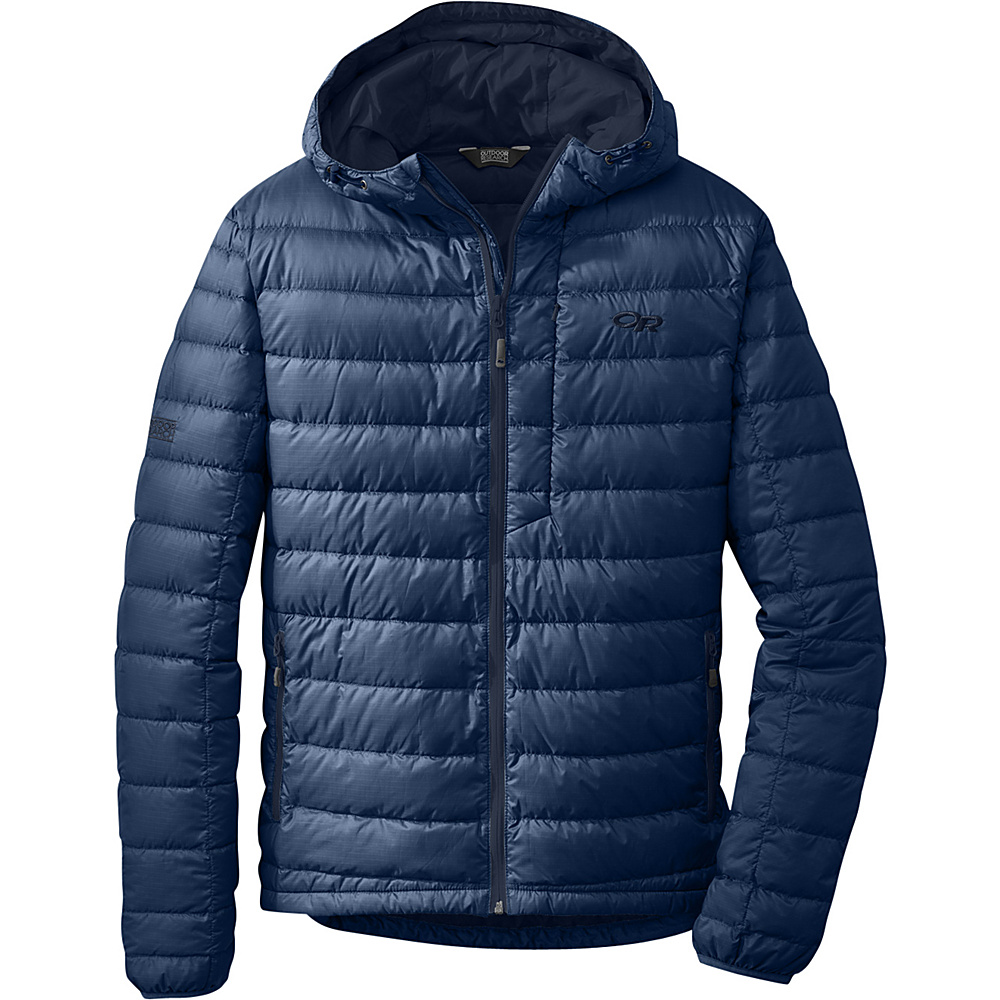 Outdoor Research Mens Transcendent Hoody XL - Dusk/Night - Outdoor Research Mens Apparel - Apparel & Footwear, Men's Apparel