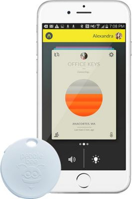 Pebblebee Honey Bluetooth Tracking Device White - Pebblebee Trackers & Locators
