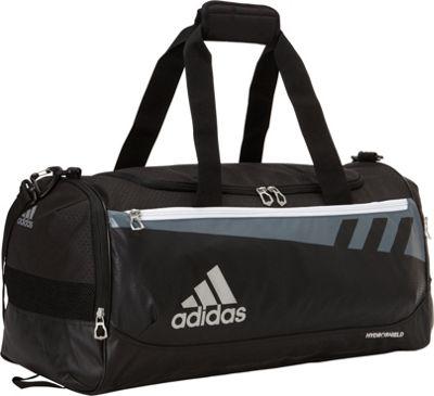 adidas Team Issue Medium Duffle Black - adidas Gym Duffels