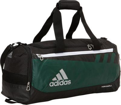 adidas Team Issue Medium Duffle Dark Green - adidas Gym Duffels