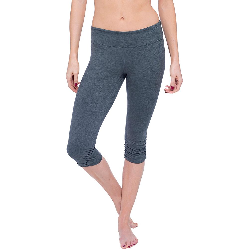 Soybu Allegro Capri XS - Storm Heather - Soybu Womens Apparel - Apparel & Footwear, Women's Apparel