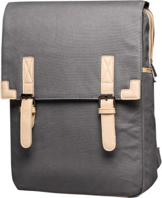 Something Strong Flapover Backpack Charcoal - Something Strong Everyday Backpacks
