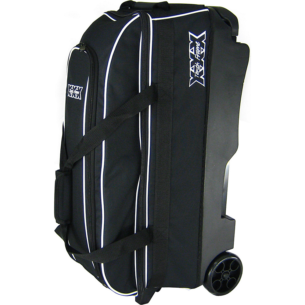 Tenth Frame Trio 3 Ball Roller Black - Tenth Frame Bowling Bags