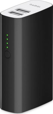 Belkin MIXIT Power Pack 4000 mAh with USB Cable Black - Belkin Portable Batteries & Chargers