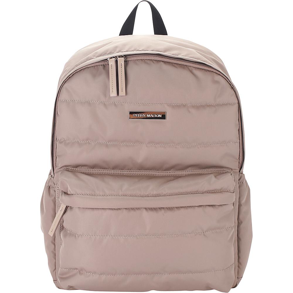 Perry Mackin Paris Diaper Backpack Beige - Perry Mackin Diaper Bags & Accessories