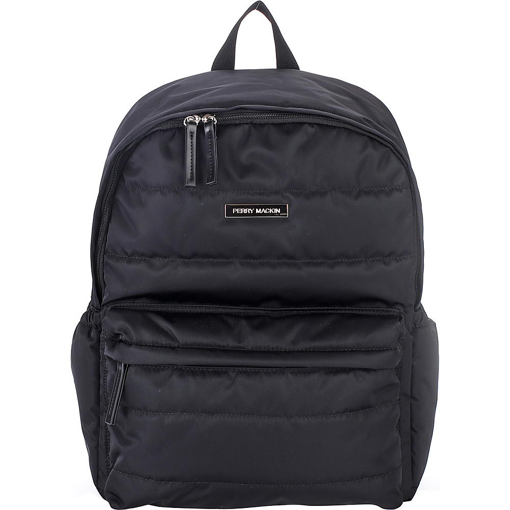 Perry Mackin Paris Diaper Backpack Black - Perry Mackin Diaper Bags & Accessories