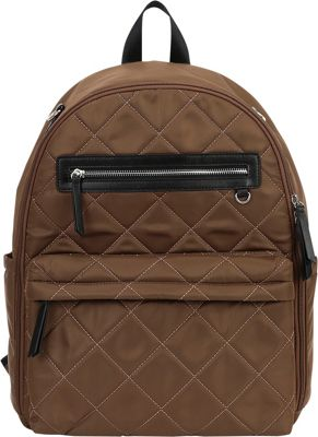 Perry Mackin Paris Diaper Backpack Khaki - Perry Mackin Diaper Bags & Accessories