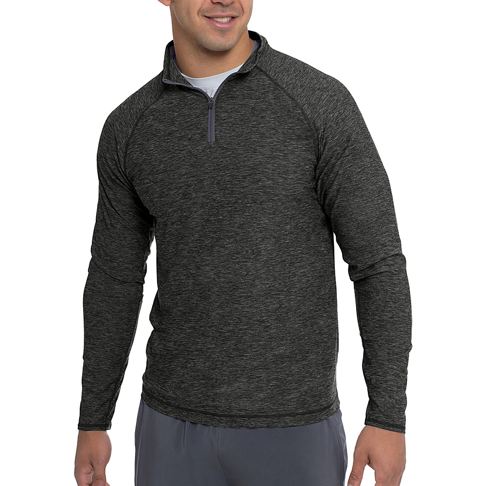 Soybu Continuum Pullover Shirt M - Graphite - Soybu Mens Apparel - Apparel & Footwear, Men's Apparel