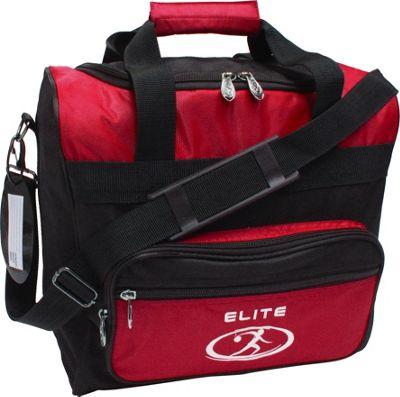 Elite Bowling Impression Bowling Bag Red/Black - Elite Bowling Bowling Bags