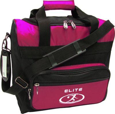 Elite Bowling Impression Bowling Bag Pink/Black - Elite Bowling Bowling Bags