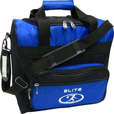Elite Bowling Impression Bowling Bag Blue/Black - Elite Bowling Bowling Bags