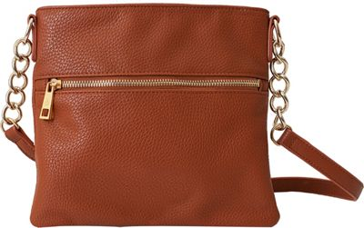 Chic Buds Crossbody Power Cognac - Chic Buds Manmade Handbags