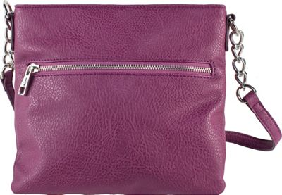 Chic Buds Crossbody Power Plum - Chic Buds Manmade Handbags