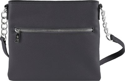 Chic Buds Crossbody Power Charcoal - Chic Buds Manmade Handbags