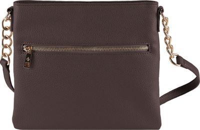 Chic Buds Crossbody Power Chocolate - Chic Buds Manmade Handbags
