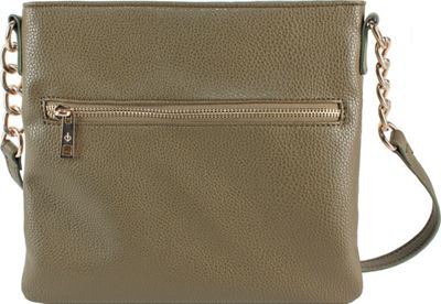 Chic Buds Crossbody Power Olive - Chic Buds Manmade Handbags