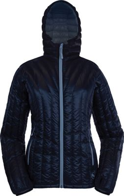Big Agnes Womens Shovelhead Hooded Jacket XS - Black/Cool Gray - Big Agnes Women's Apparel