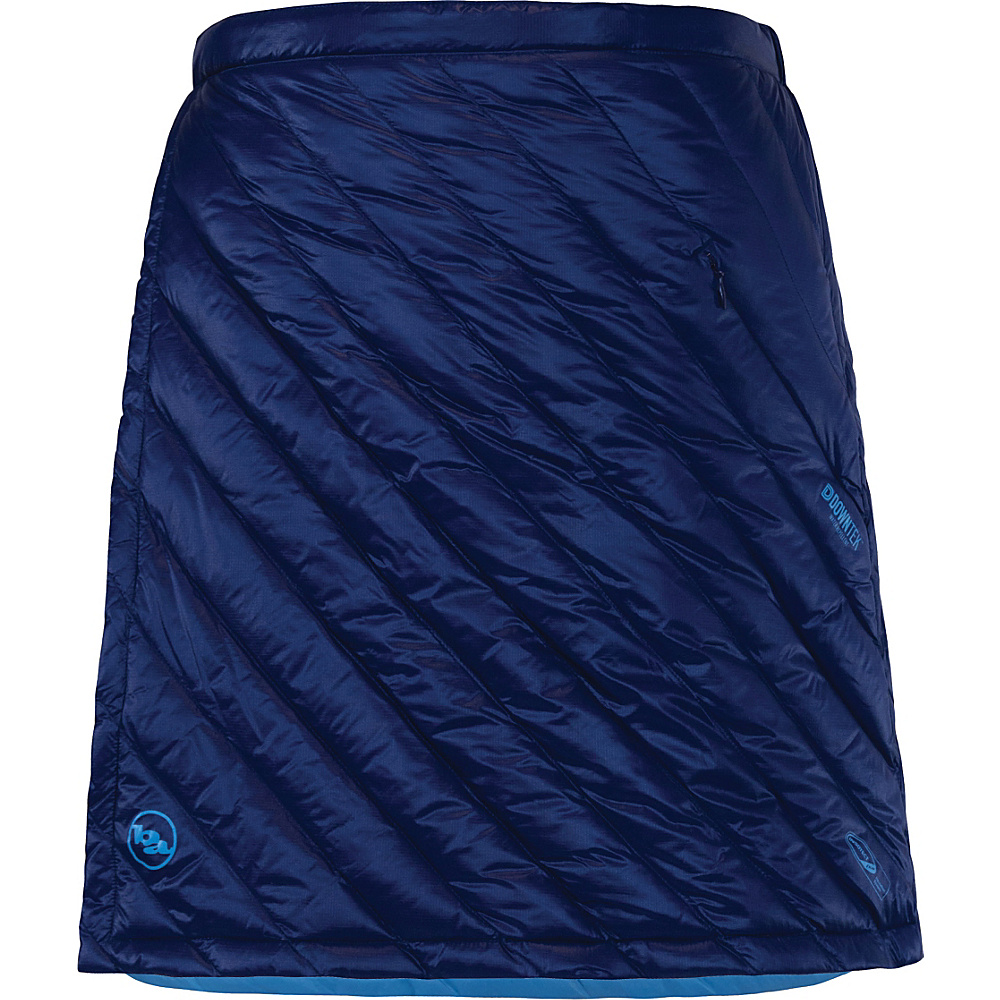 Big Agnes Womens Zirkel Circle Skirt S Estate Blue Blue Topaz Big Agnes Women s Apparel