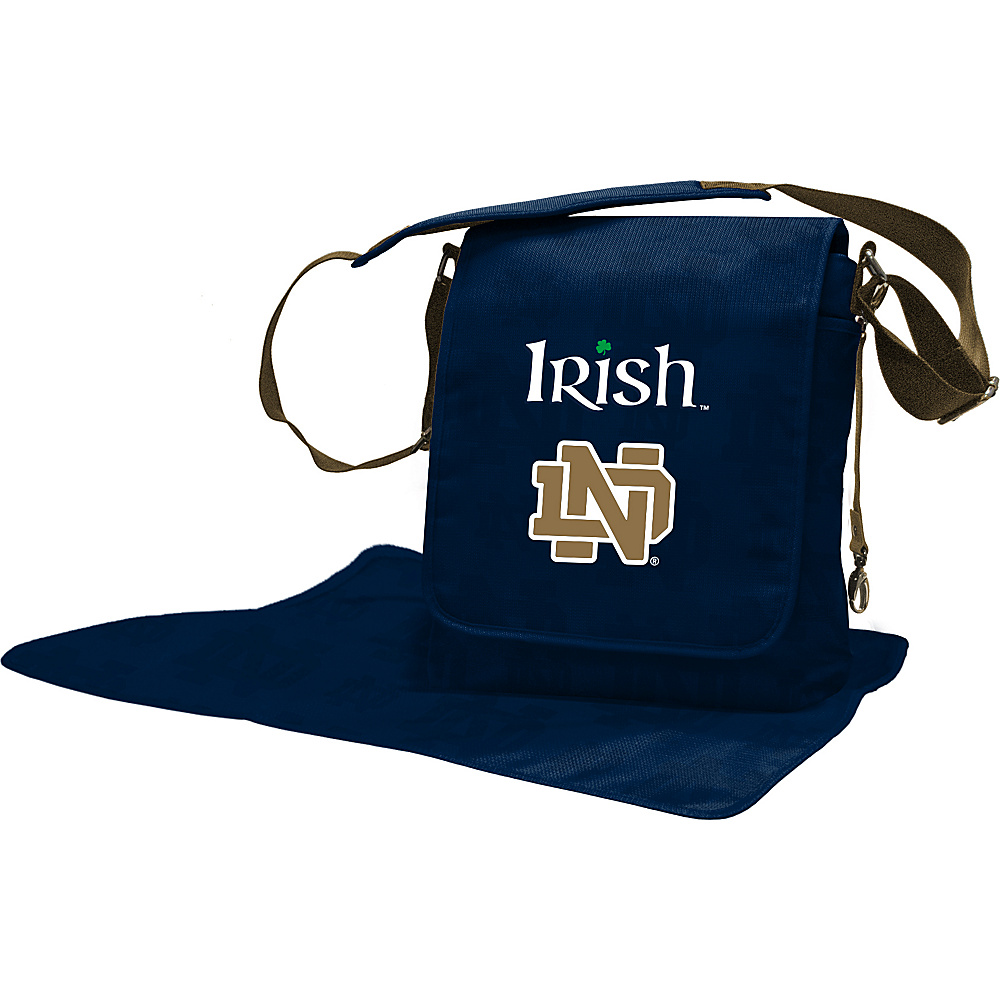 Lil Fan Independent Teams Messenger Bag University of Notre Dame - Lil Fan Diaper Bags & Accessories
